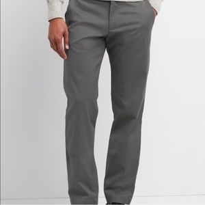 Gap Men's New chinos straight leg gray 31x30